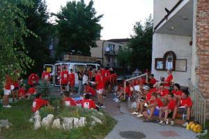 Przyjecie wolontariuszy z Wenecji i Udine