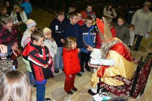 Mikołaj z Fundacją Św. Rity - Zawiercie - 6 XII 2007