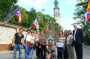 Spotkanie z wolontariatem z Mexico