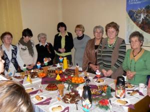 Spotkanie opłatkowe w siedzibie fundacji 18-12-2011